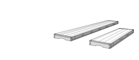 Platform container dimensions