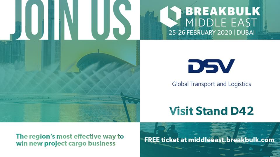 DSV and Panalpina at Breakbulk Middle East