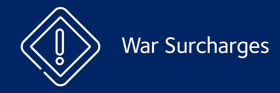 War Surcharges Middle East