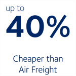 Cheaper than Air Freight