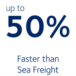 Faster than Sea Freight