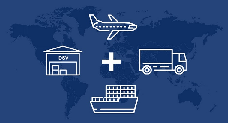 DSV Service & World Map