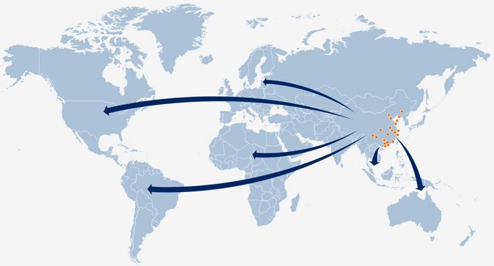 DSV World Map