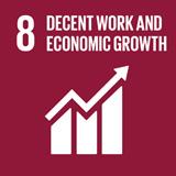 DSV contributes to SDG 8