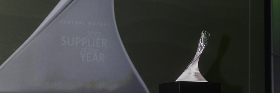 Gm év beszállítója díj
