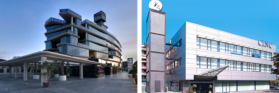 DSV office buildings in Murcia and Girona, Spain
