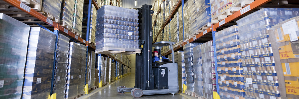 Tchibo partnership, warehouse logistics