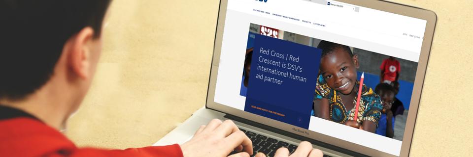 humanitárius segély weboldal