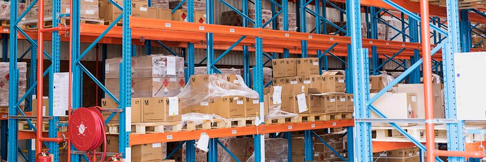 DSV 2017 warehouse