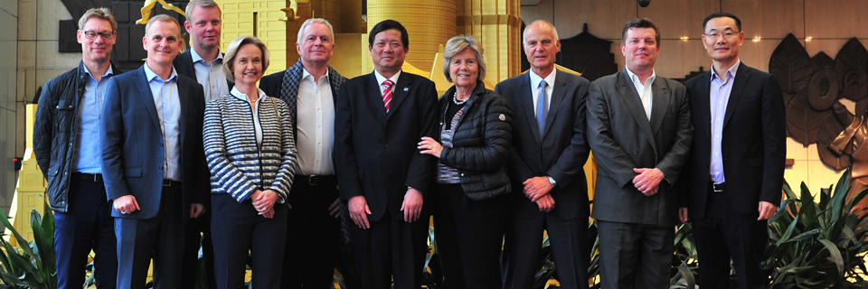 DSV Board of Directors in China