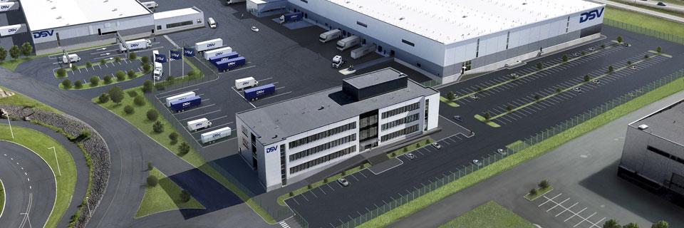 DSV logistics centre Vantaa Finland 2019