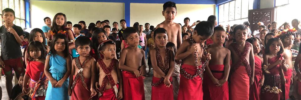 Children from Peru 2018