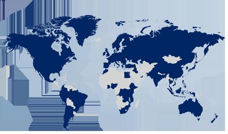 Find DSV worldmap