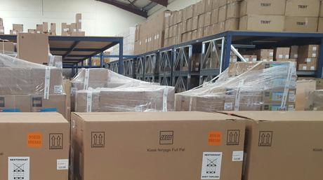 Kenya Nairobi warehouse