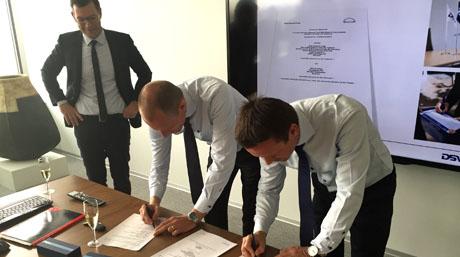 MAN-Diesel signing