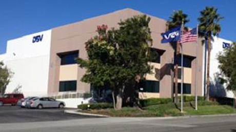 US West coast warehouse