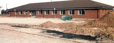 The first new built DSV office in Skuldelev, Denmark