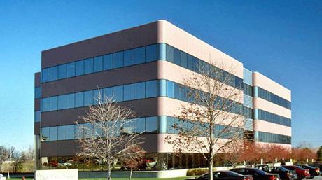DSV office building facade in Indianapolis