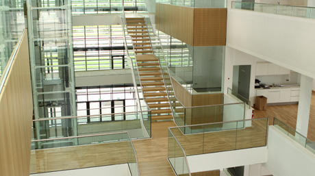 DSV Krefeld office - inside view