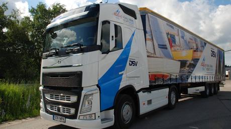 specially designed DSV truck
