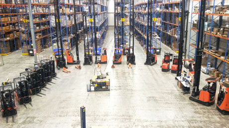 DSV Solutions warehouse