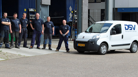 DSV trailer workshop in Holland_1