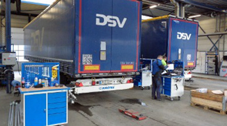DSV trailer workshop in Holland_2
