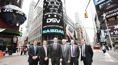 DSV opened NASDAQ in New York