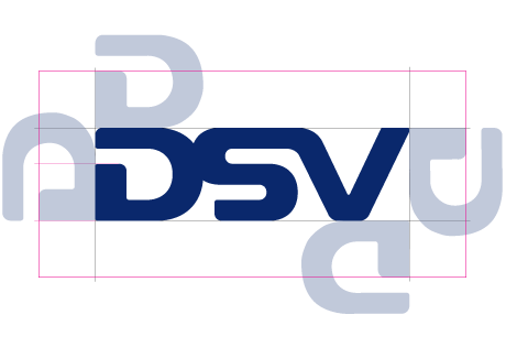 DSV logo minimum space