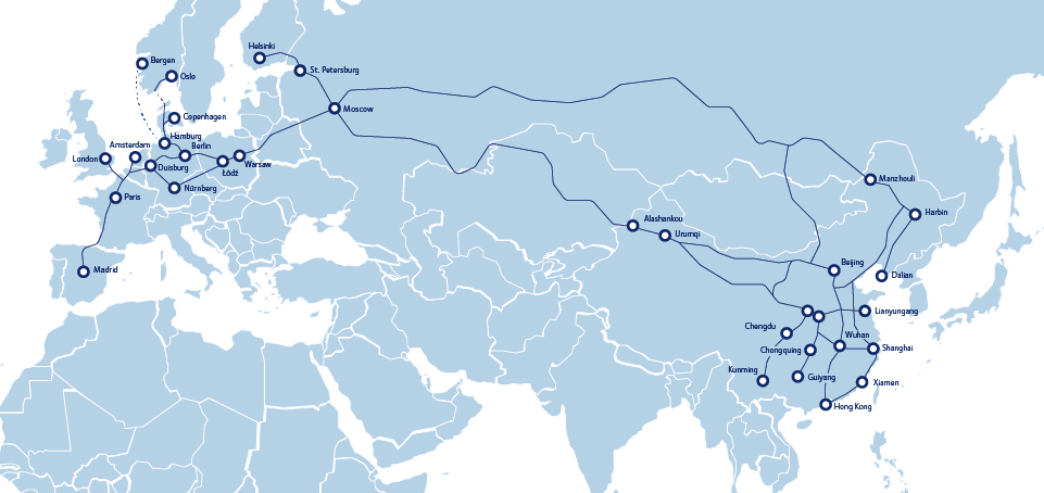 Free white paper on rail transport between China and Europe