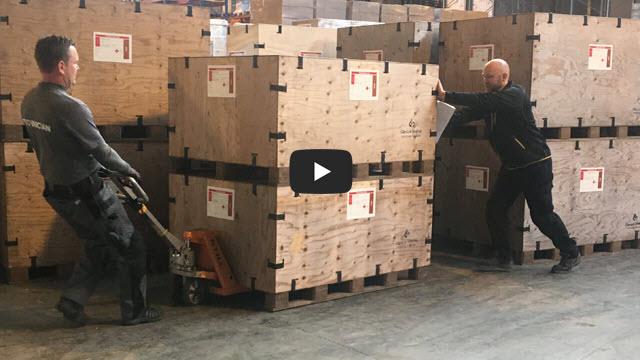 Supplying emergency relief equipment film