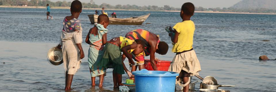 DSV helps Red Cross provide clean water in Malawi