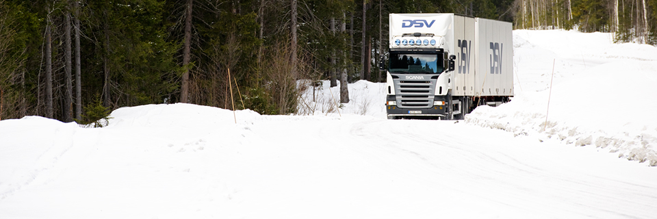 DSV Truck Snow