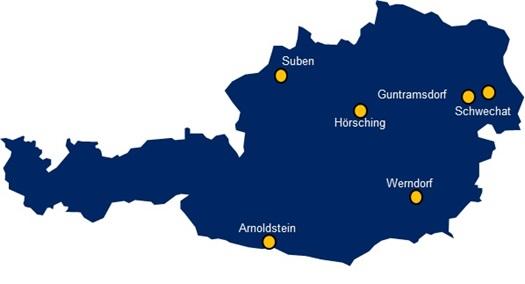 DSV austria esindused