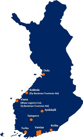 DSV Soome esindused