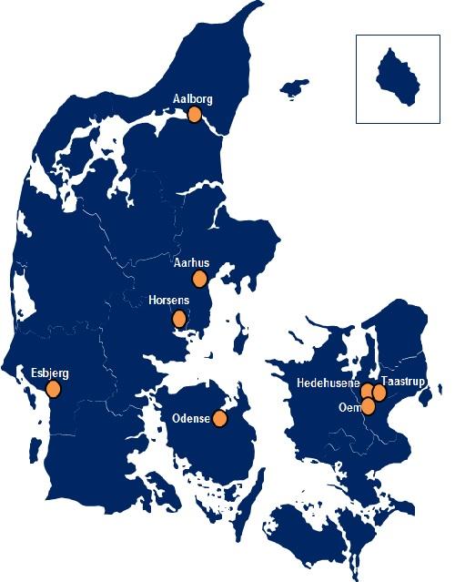 DSV Taani esindused