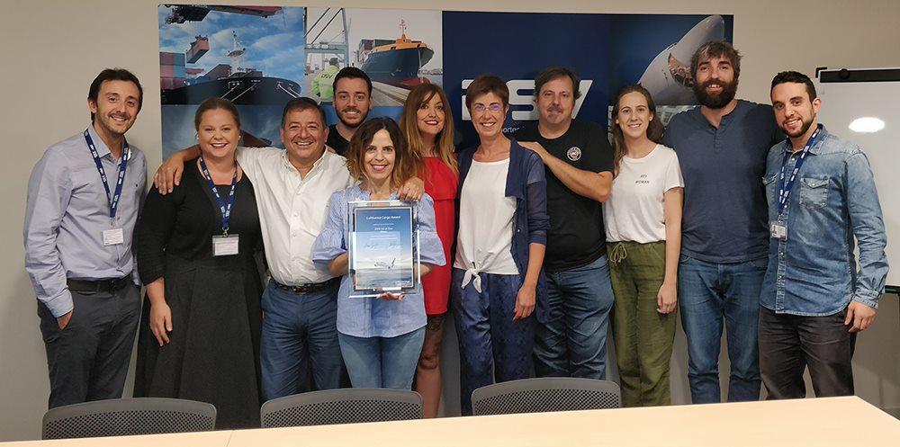 Air & Sea Bilbao recibe el premio LH Cargo Award 2018