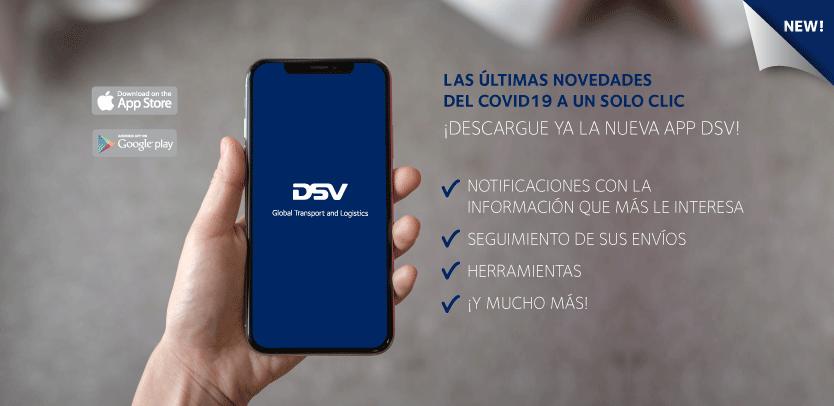 Nueva APP DSV Coronaviurs Updates