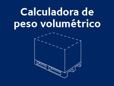 calculadora peso volumetrico transporte