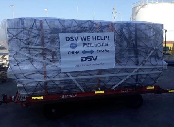 Primer envío DSV We Help Import China España