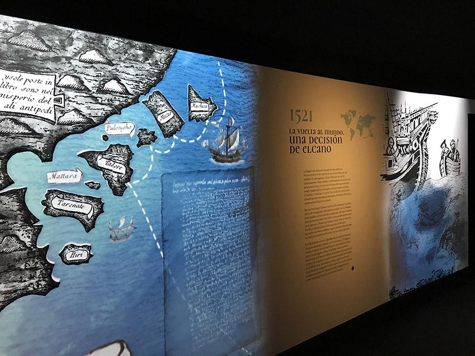 exposicion primera vuelta al mundo expedicion magallanes elcano museo naval madrid