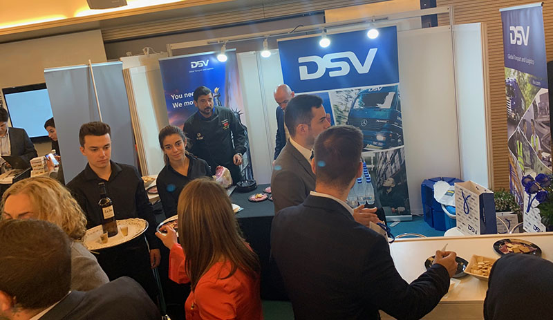 stand dsv end2end madrid congreso retail supply chain solutions 2019