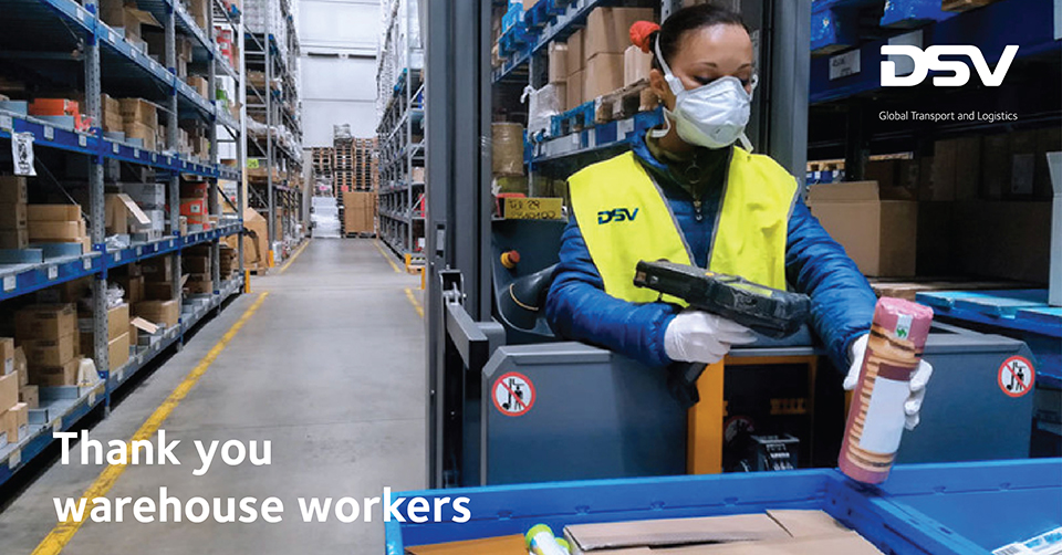 thank you warehouse workers