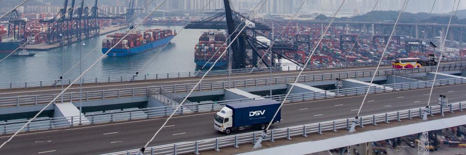 DSV Silkway Express Transporte Terrestre China