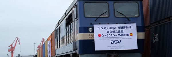 dsv we help tren record china madrid covid