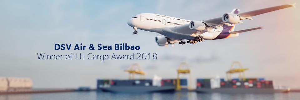 DSV Air & Sea Bilbao Winner LH Cargo Award 2018