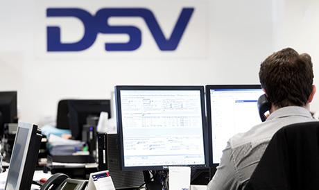 DSV staff at the office