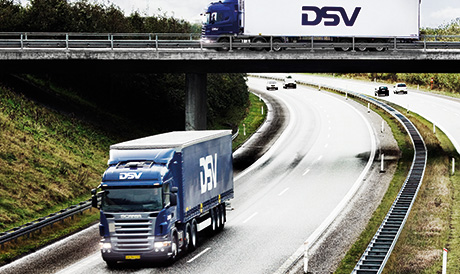 DSV trucks here and there