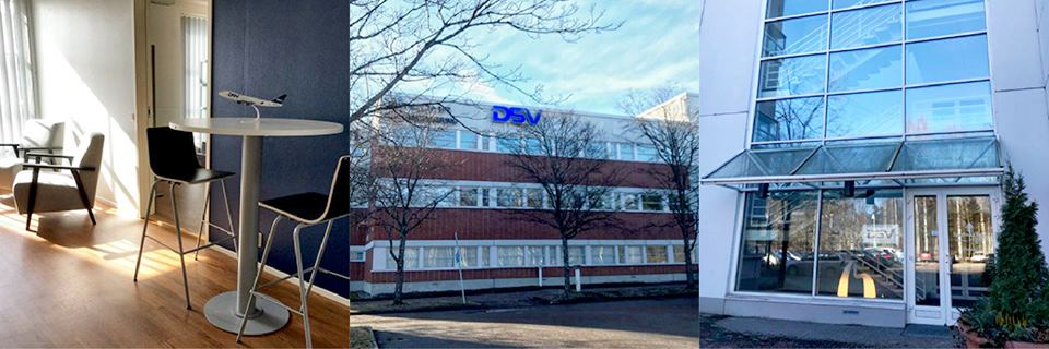 DSV Jyvaskyla's new premises 2018