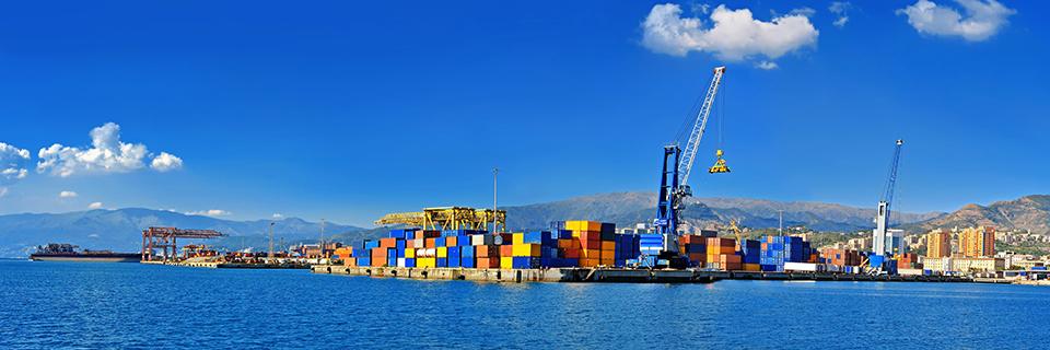 Port in Italy
